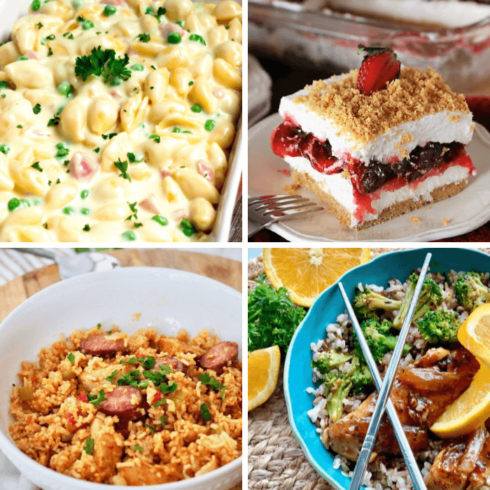 Meal Plan Monday 200 Featured Recipes Collage