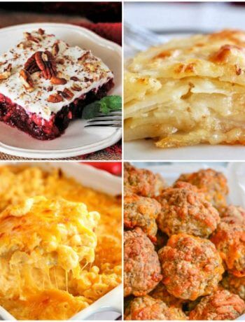 Meal Plan Monday 193 photo collage of featured recipes