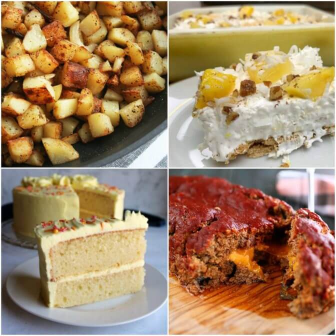 Meal Plan Monday 208 collage of featured recipes