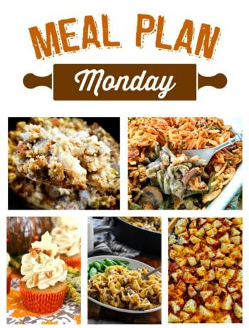 Meal Plan Monday #189 Featured Recipes