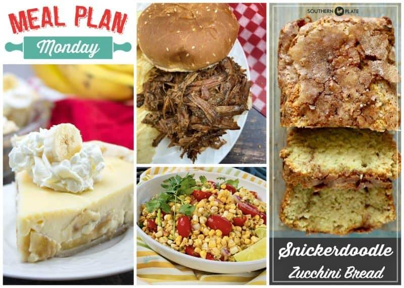 Collage of the recipes featured in Meal Plan Monday edition 231