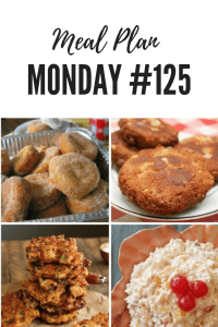 Meal Plan Monday 125: Okra and Green Tomato Fritters, Salmon Patties, Fried Biscuits, Mom's Creamy New York Fruit Salad and over 100 NEW recipes shared by food bloggers