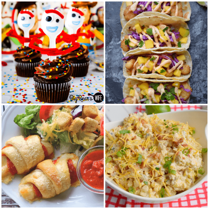 Collage of featured recipes at Meal Plan Monday #170