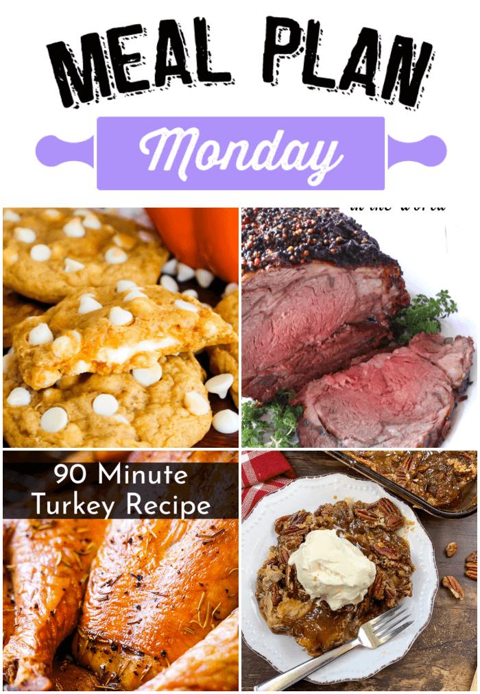 Meal Plan Monday 190 Pecan Pie Cobbler