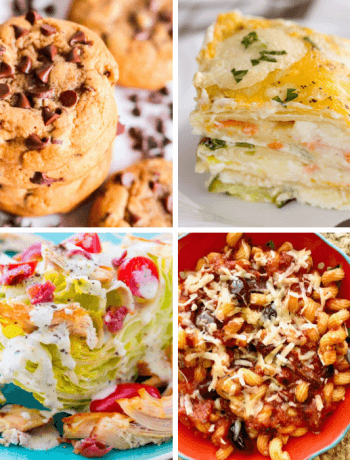 Meal Plan Monday 205 Vegetable Lasagna and more great recipe ideas