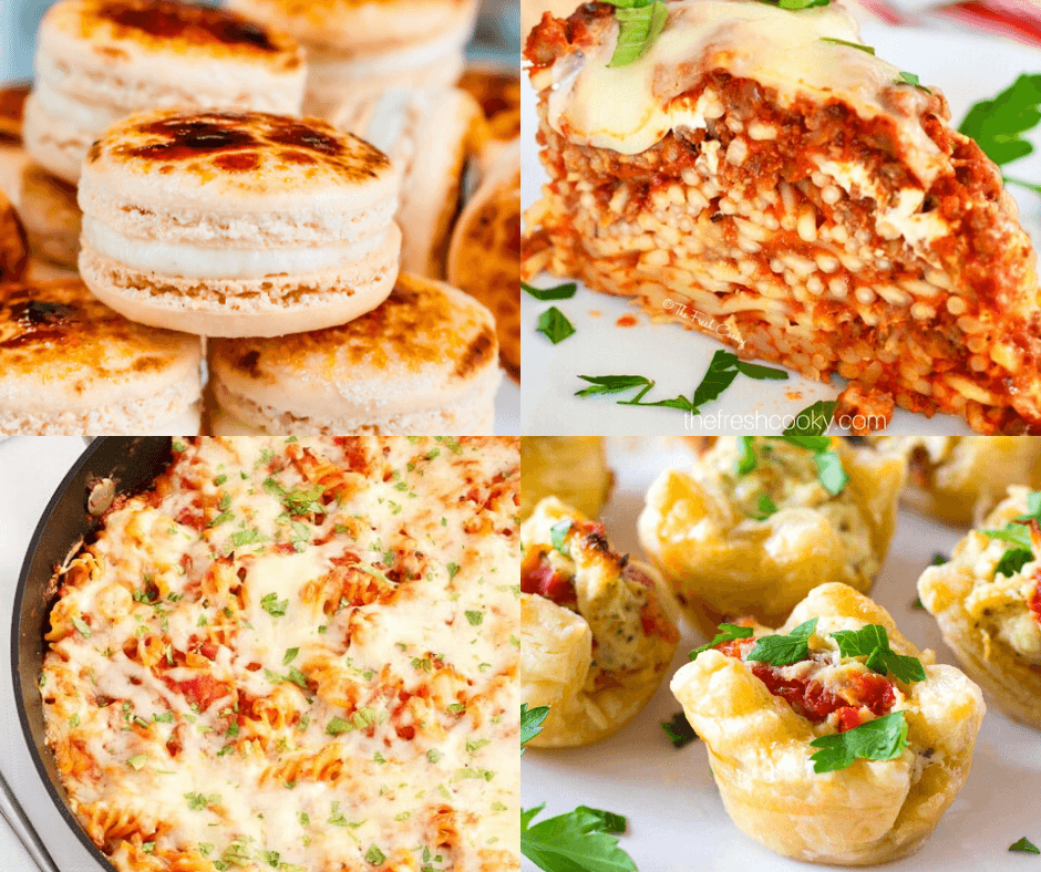 Collage of featured recipes at Meal Plan Monday 220 edition