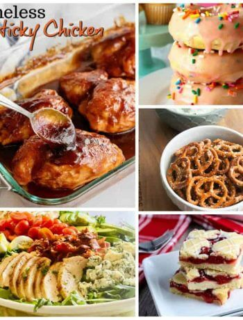 Meal Plan Monday 221 cover photo showing featured recipes