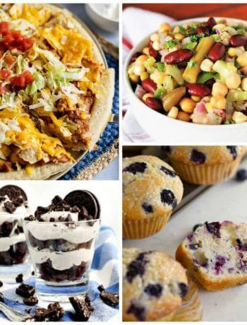 Meal Plan Monday 226 Cover Photo showing the featured recipes