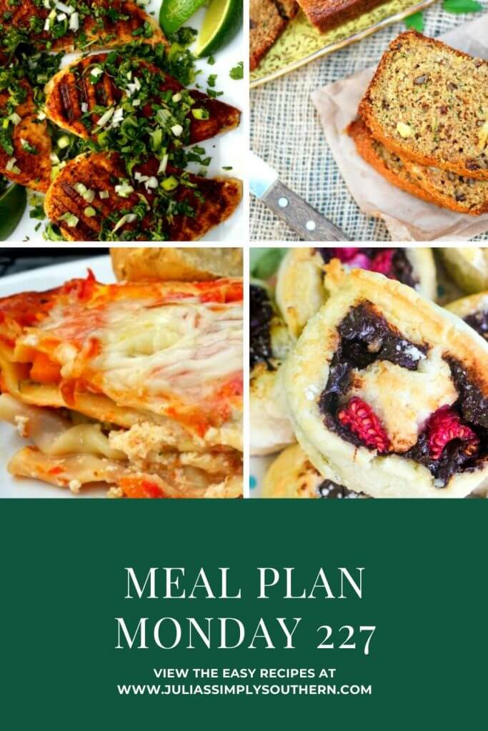 Pinterest - Post Photo for Meal Plan Monday 227 with the featured recipes