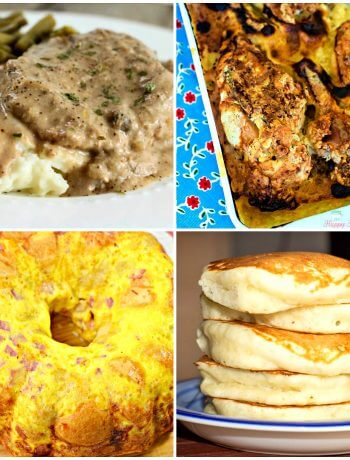 Collage of featured photos at Meal Plan Monday 237