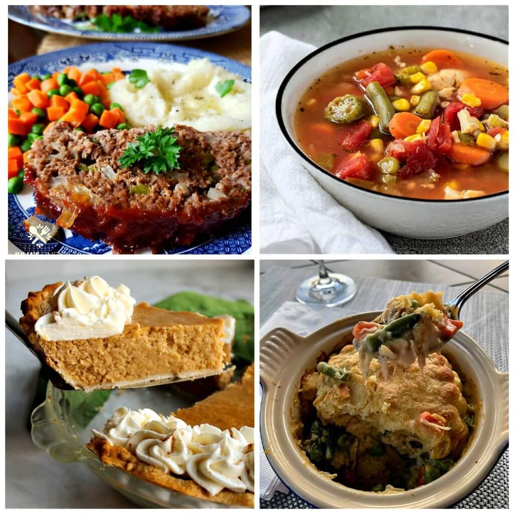 Meal Plan Monday 239 Collage of featured recipes
