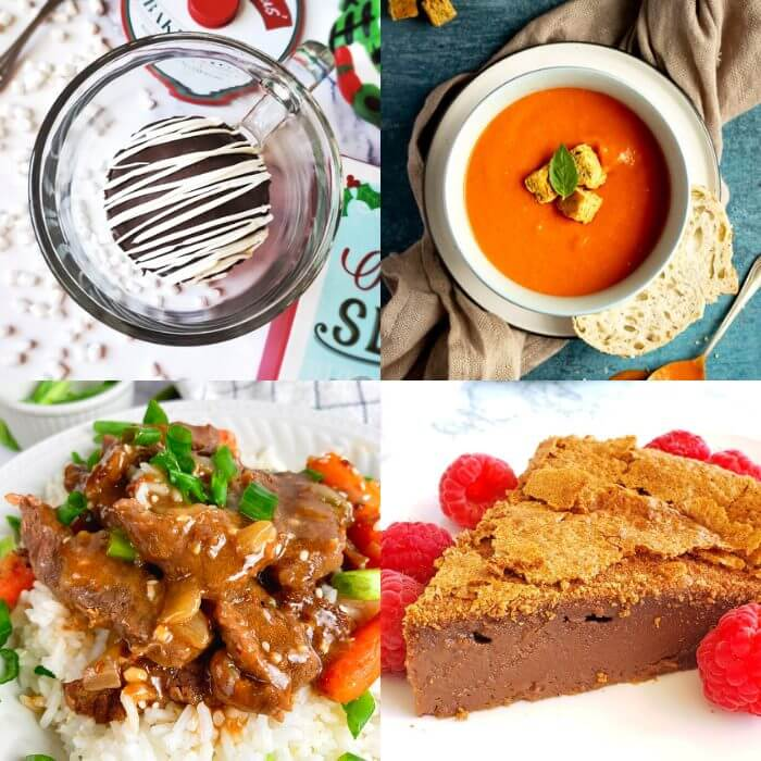 Meal Plan Monday 240 collage of featured recipes