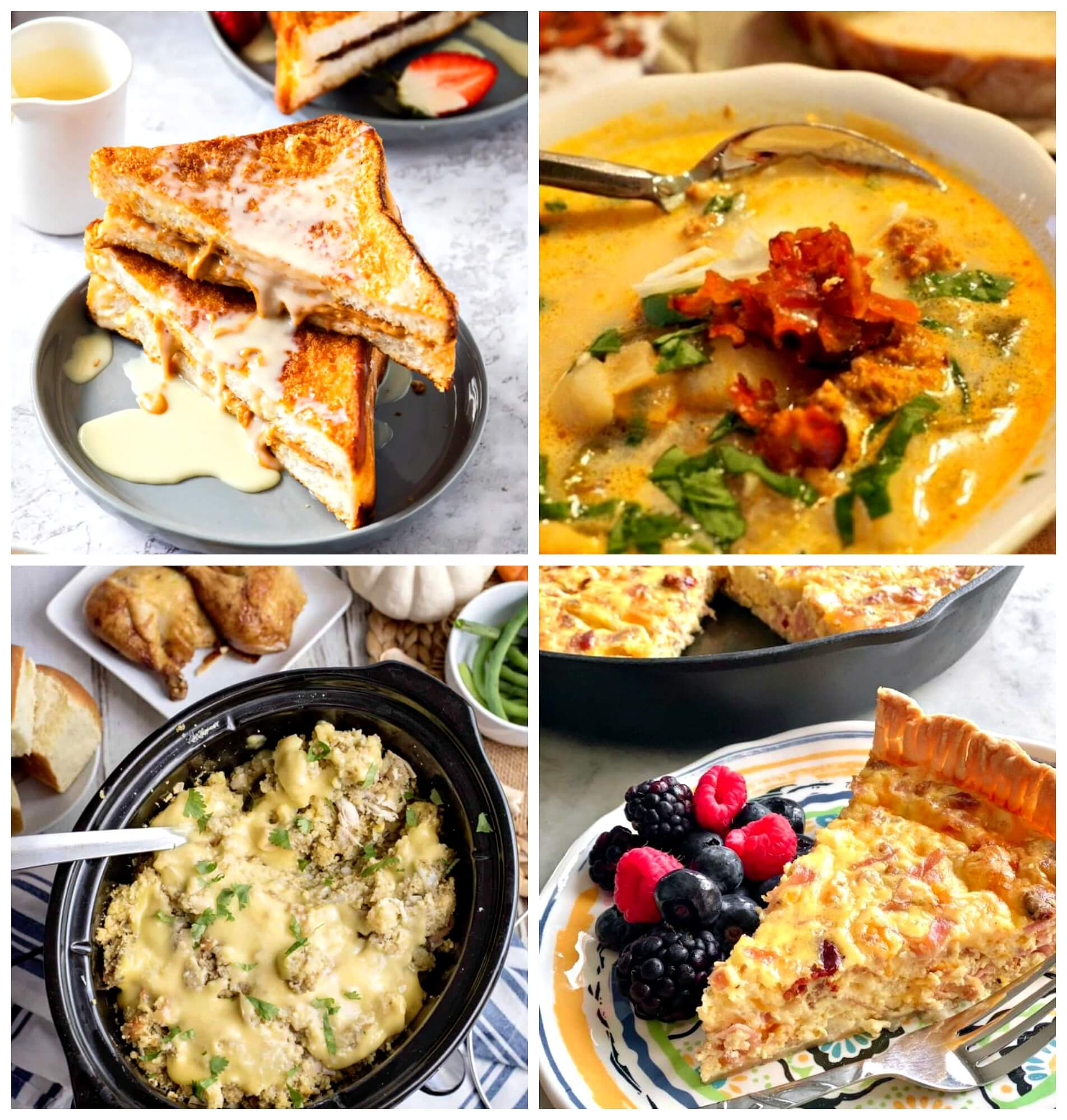 Meal Plan Monday 241 collage of featured recipes
