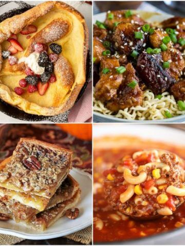 Meal Plan Monday 243 Featured Recipes collage