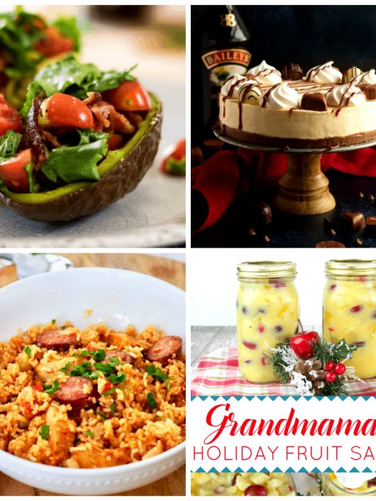 Meal Plan Monday 246 Collage of Featured Recipes