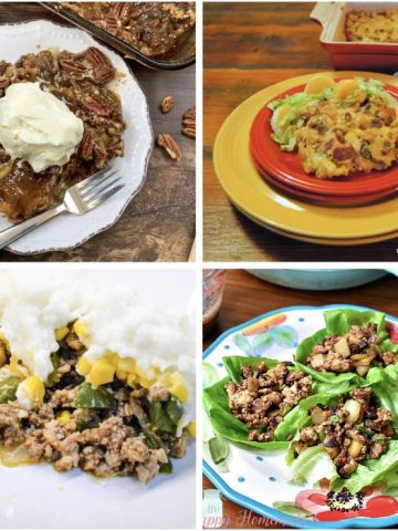 Meal Plan Monday 247 - collage of featured recipes