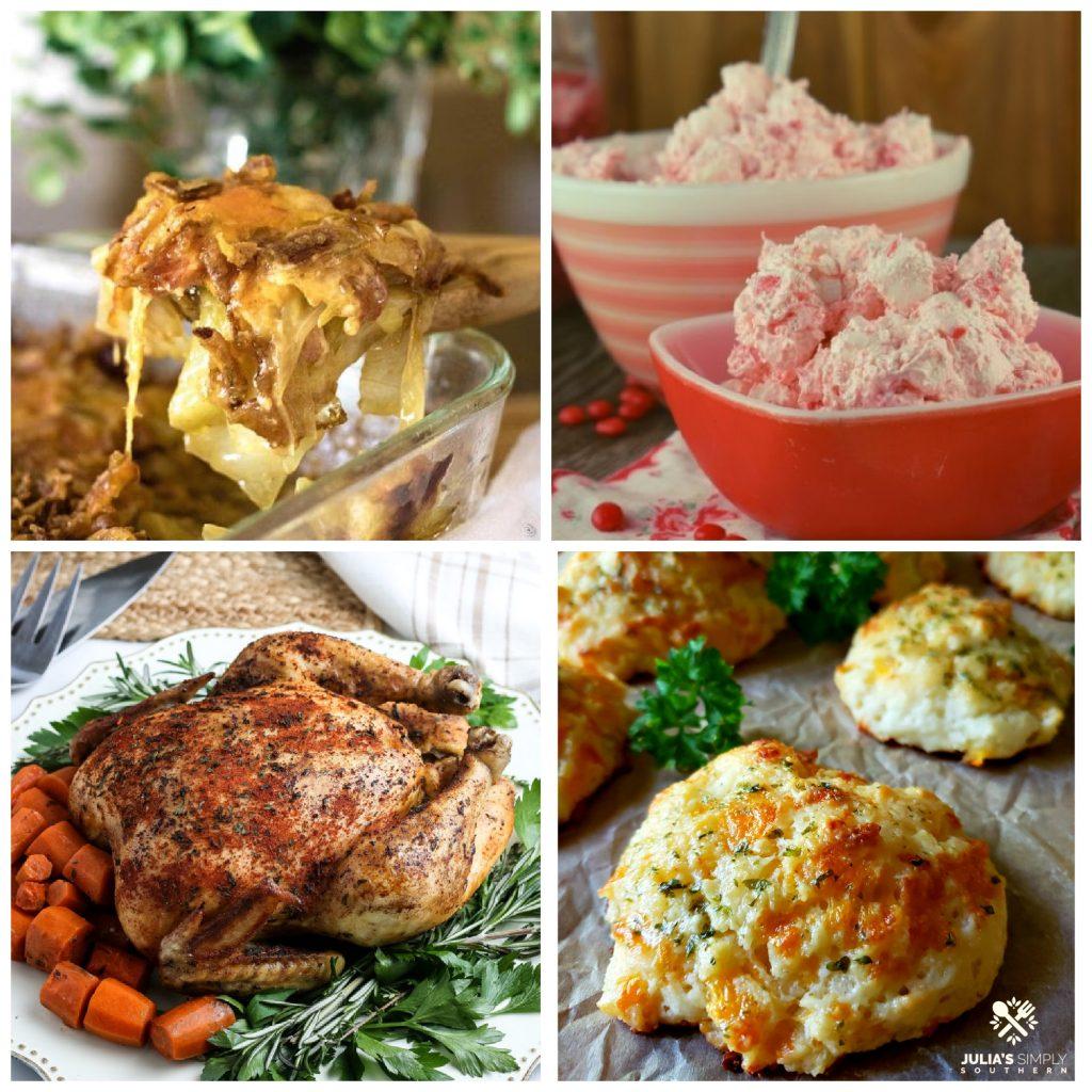 Collage di ricette in vetrina al Meal Plan Monday 249