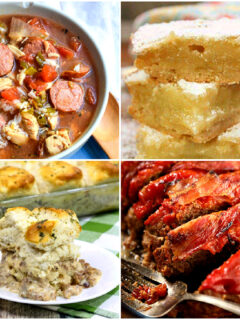 Meal Plan Monday 253 Collage of Featured Recipes