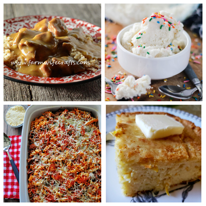 Meal Plan Monday 254 collage of featured recipes