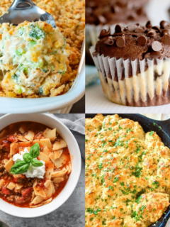 Meal Plan Monday 255 - Featured Recipe Collage