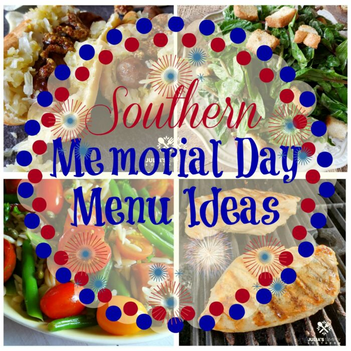 Southern Memorial Day Recipe Ideas and Menu Planning