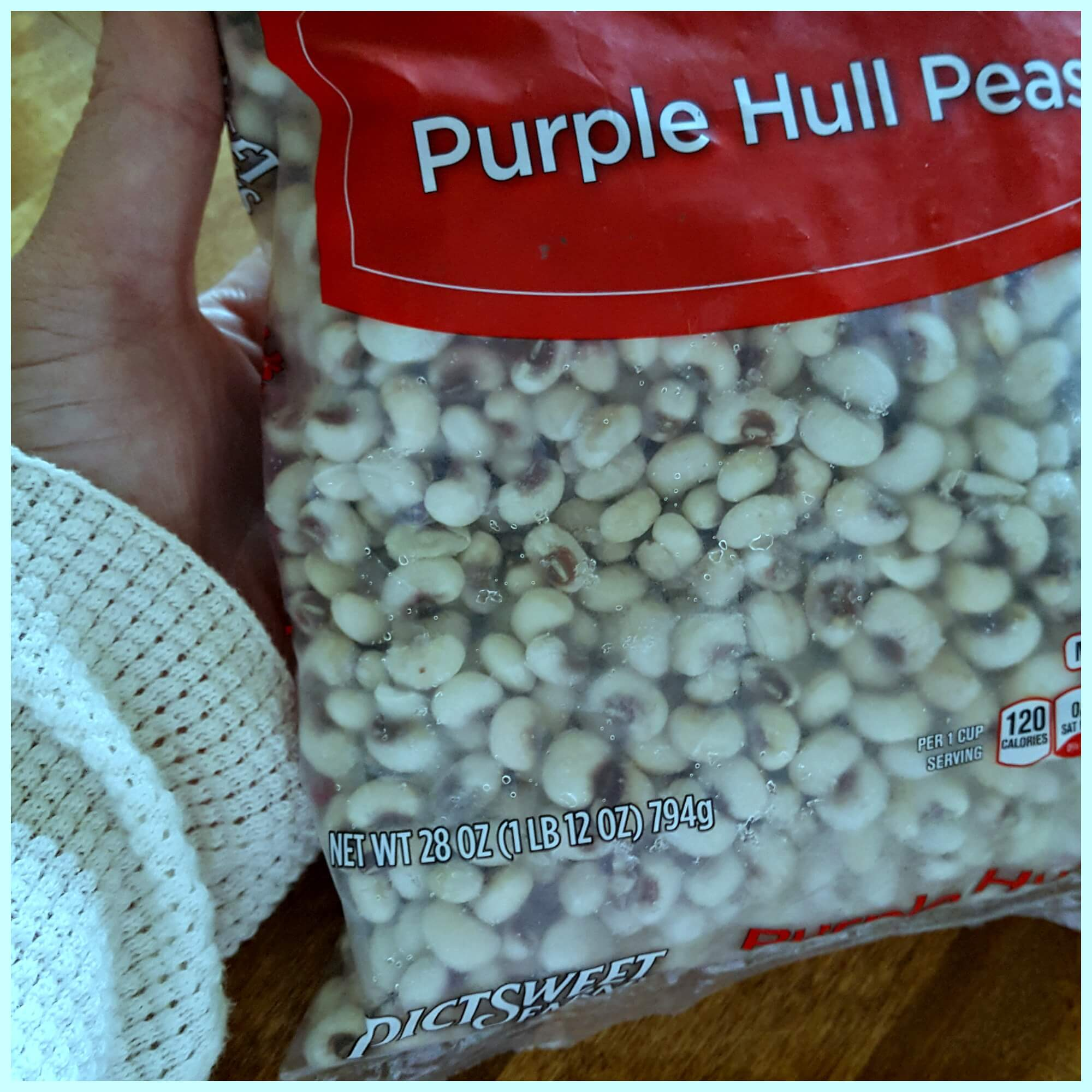 Fresh Frozen Purple Hull Peas