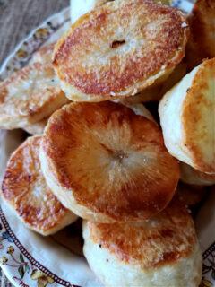 Crispy Creamy Roast Potatoes