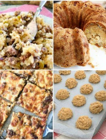 Meal Plan Monday 183 - recipes shared by food bloggers to help with meal planning