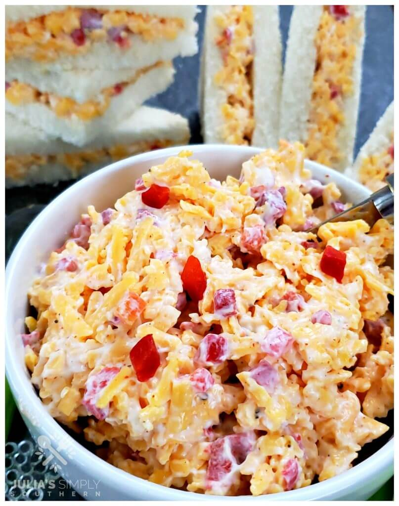 Best Southern soul food pimento cheese recipe ever - so delicious