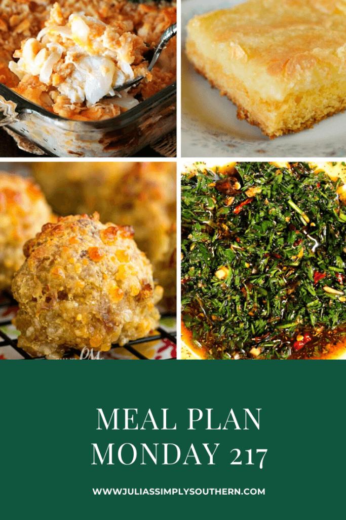 Meal Plan Monday Pinterest Image