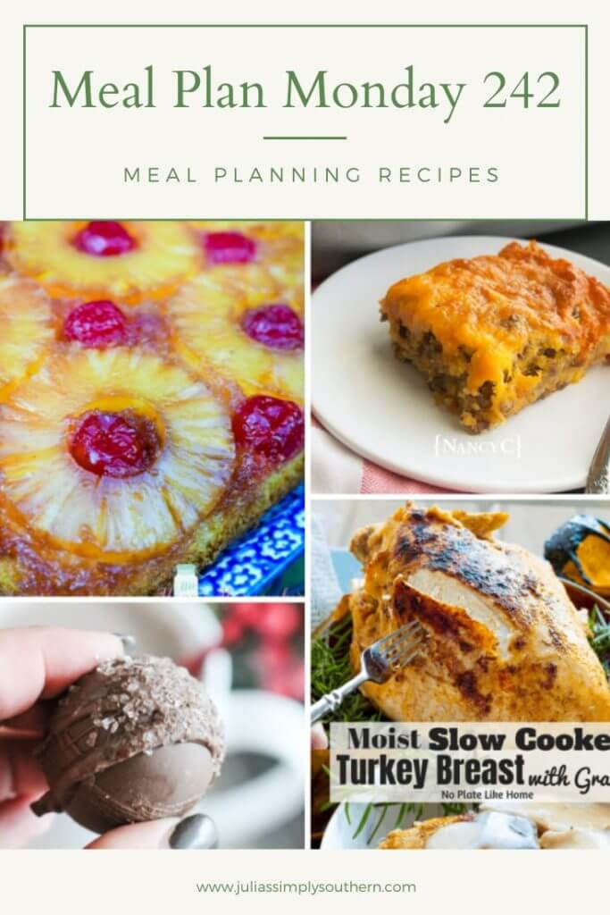meal plan Monday 242 Pinterest