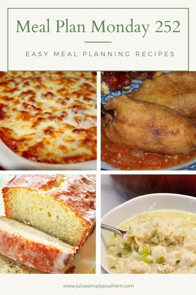 Meal Plan Monday 252 Pinterest Graphic