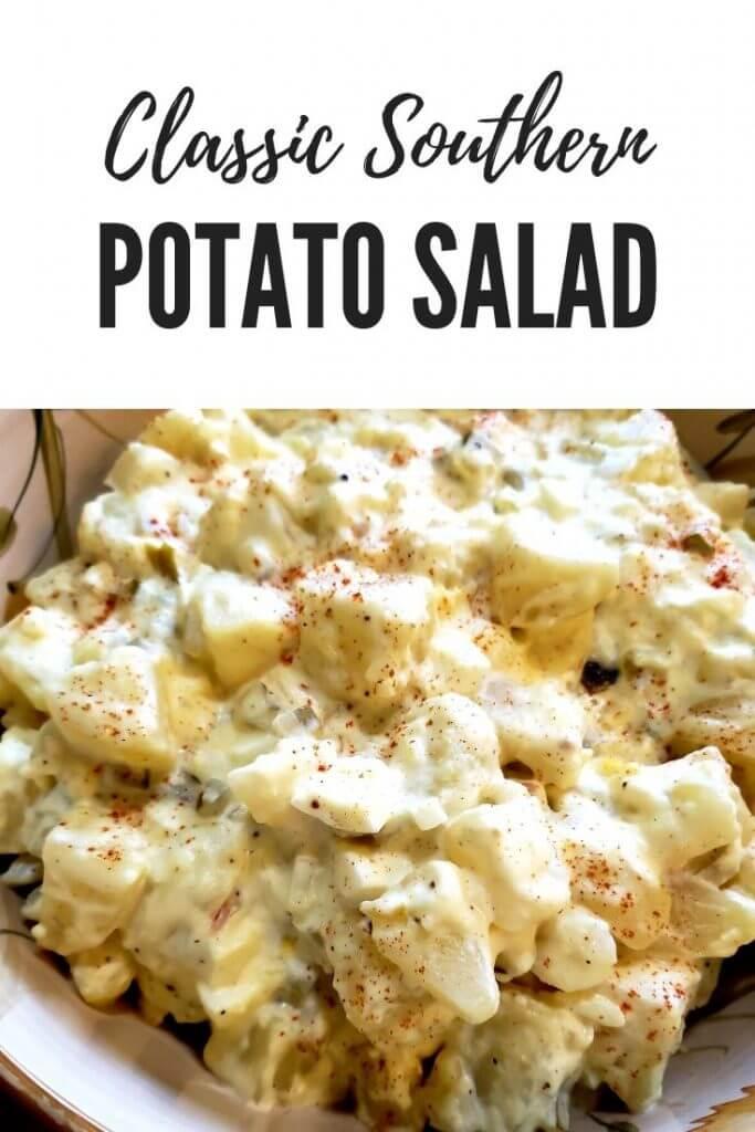 Awesome Southern Style Potato Salad Recipe