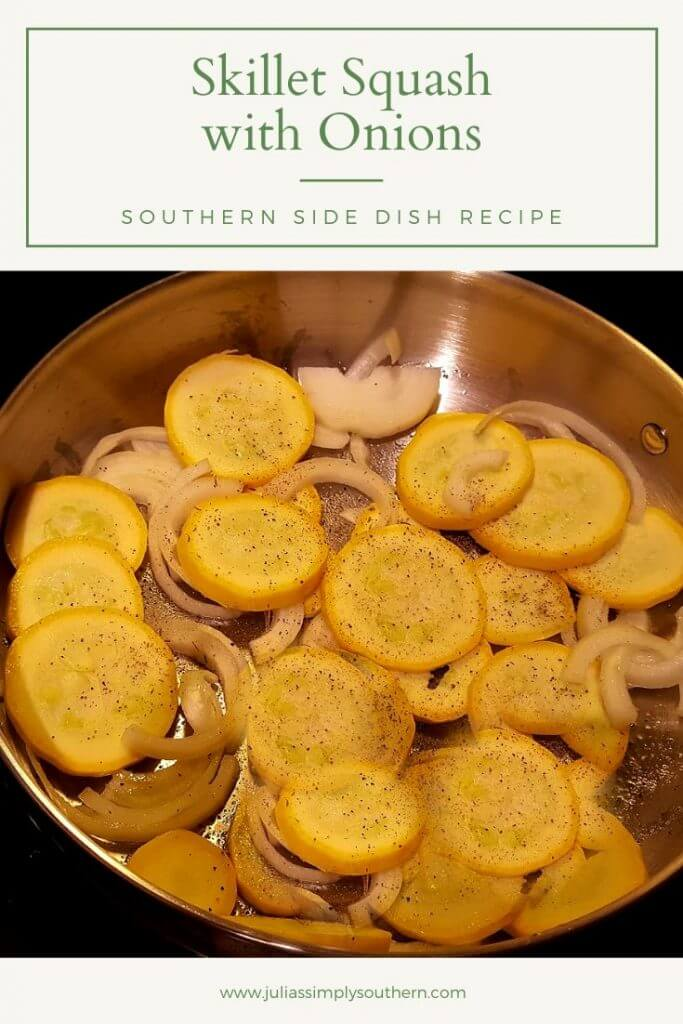 Skillet Squash with Onions