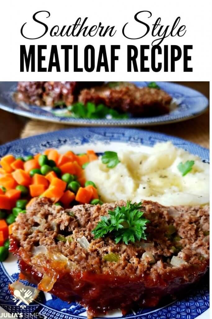 Pinterest Image for Meatloaf Recipe