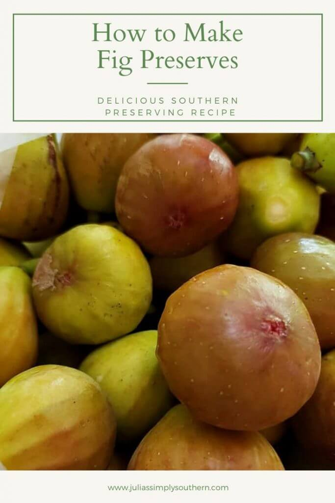 fresh fig preserves