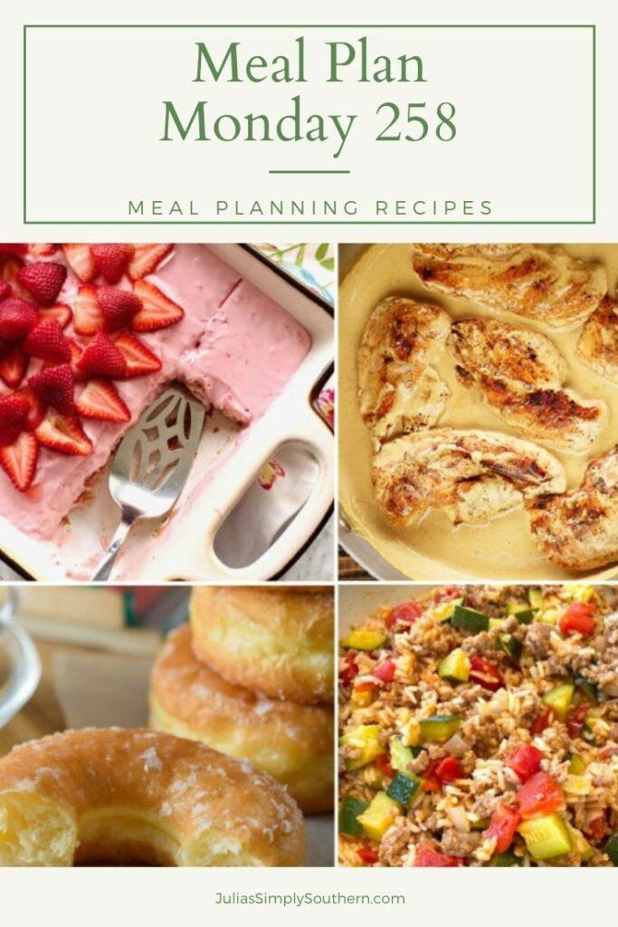 Meal Plan Monday 258 Pin Graphic