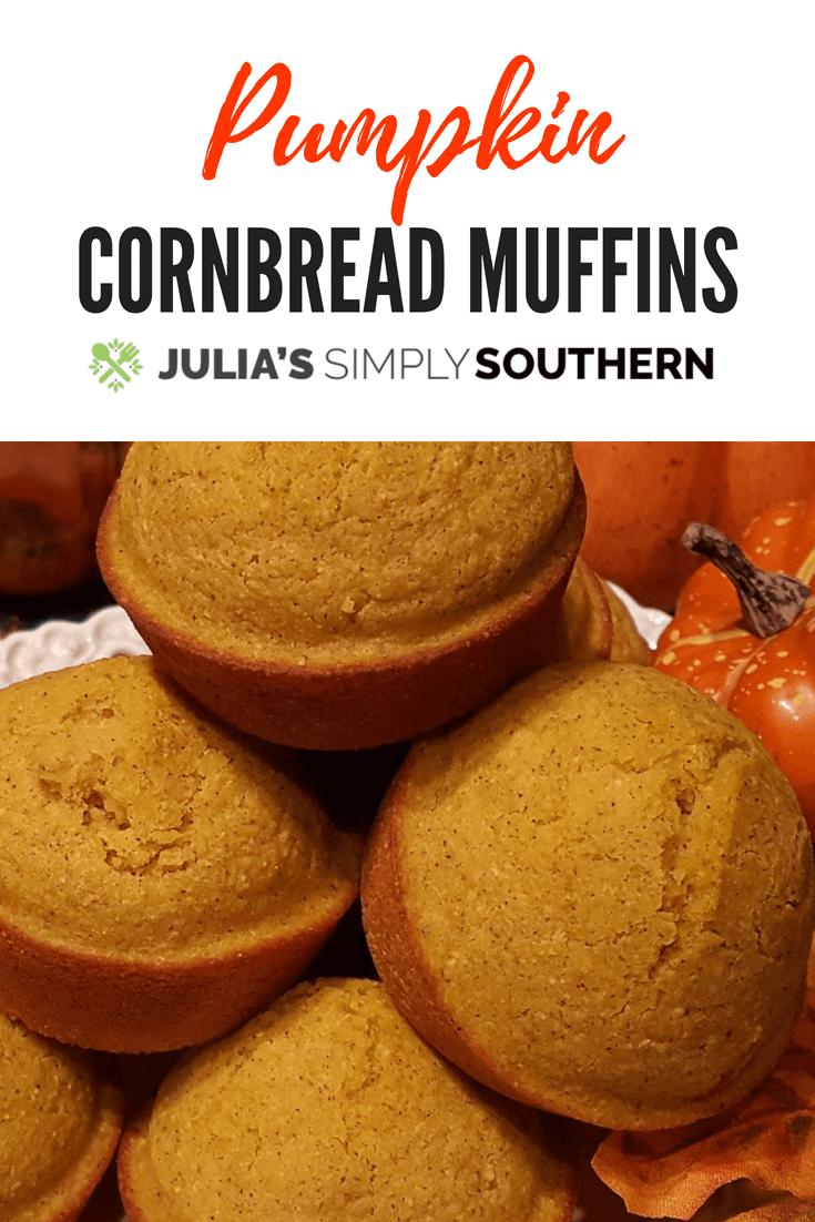Pumpkin Cornbread Muffins Recipe