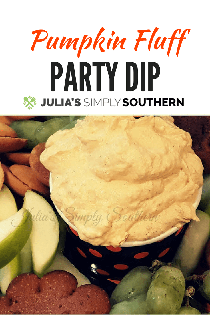 Pumpkin Fluff Party Dip is delicious for all of your fall gatherings #Halloween #Recipes #Fall #Autumn #PumpkinSpice