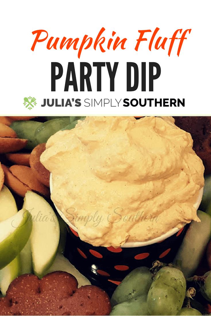 pumpkin fluff party dip