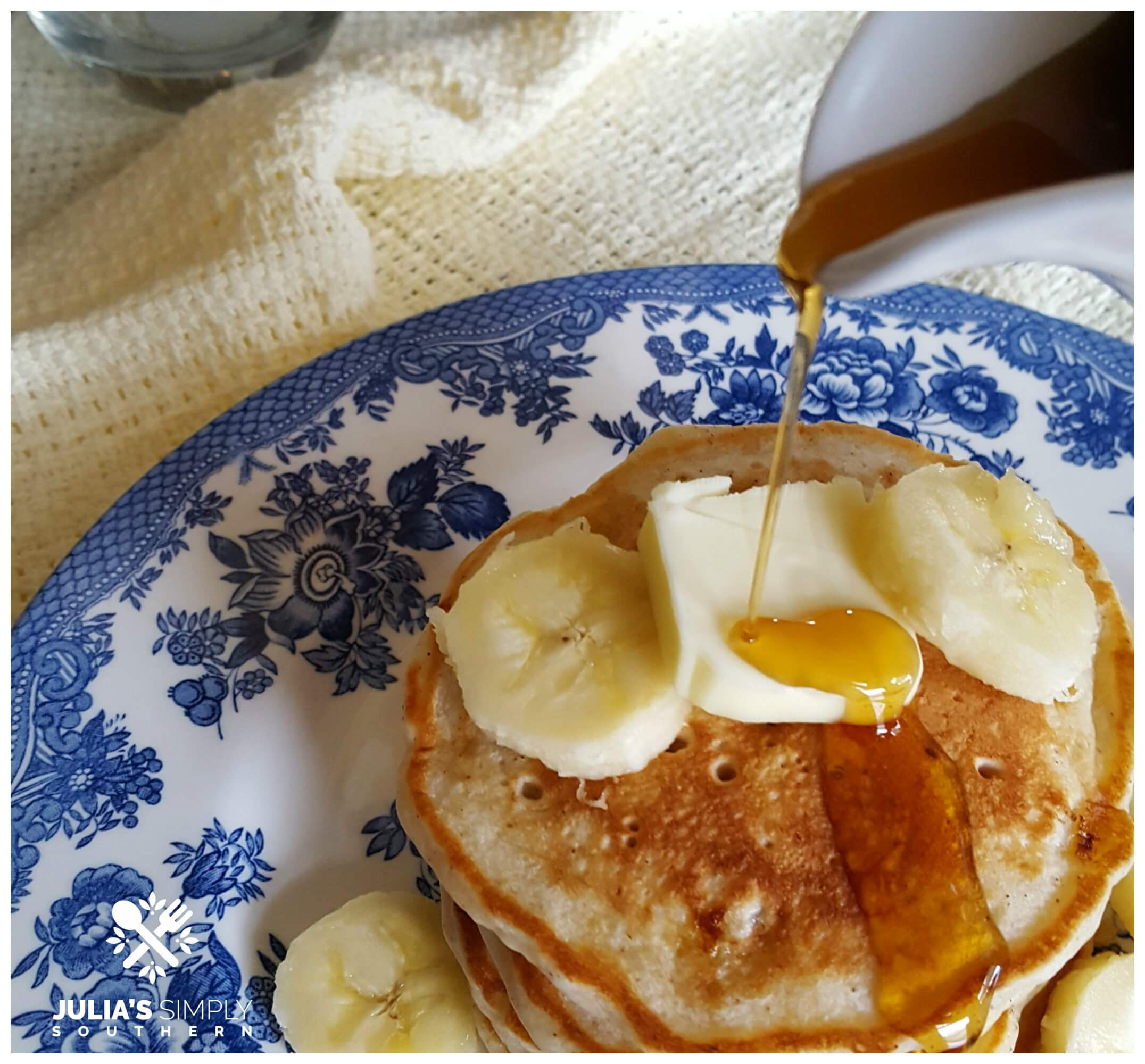 Real Maple Syrup on pancakes