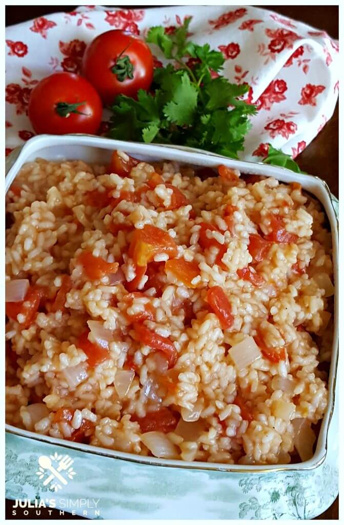 Diced tomatoes and rice recipe