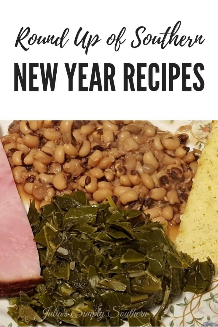 Southern New Year's Day traditional recipes for good luck