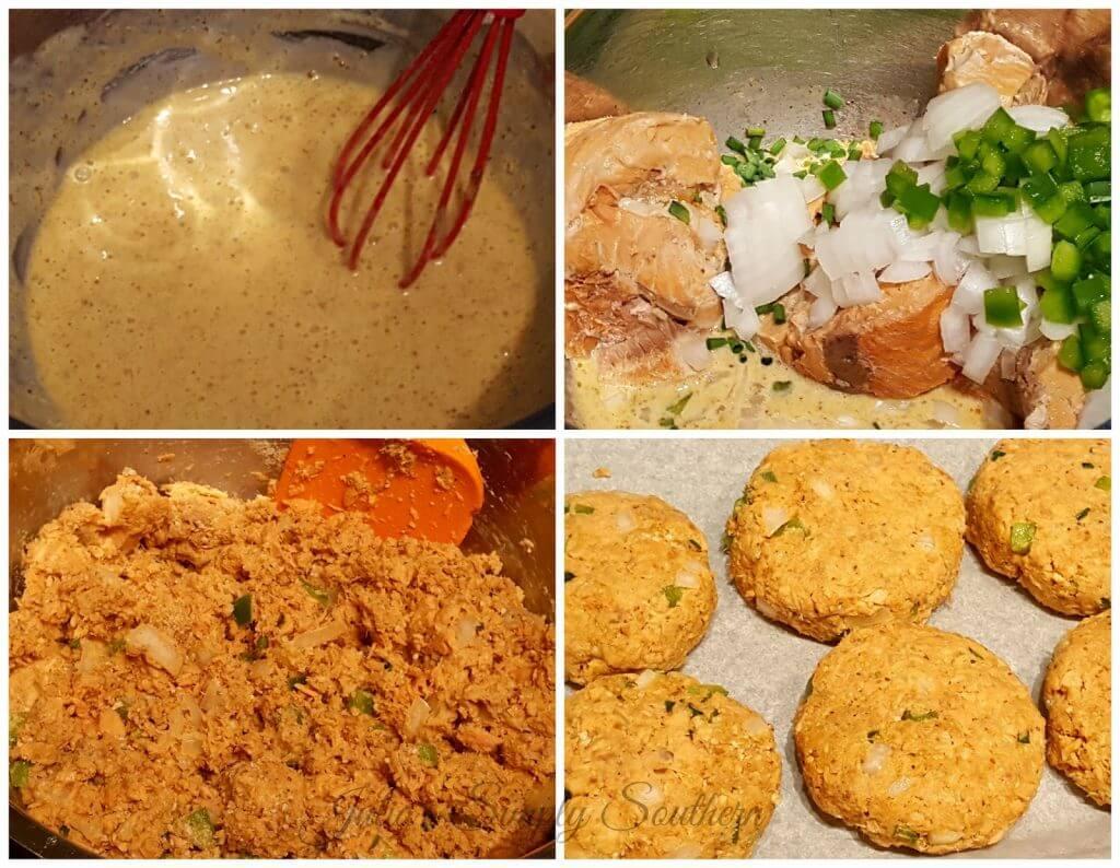 how to make salmon patties