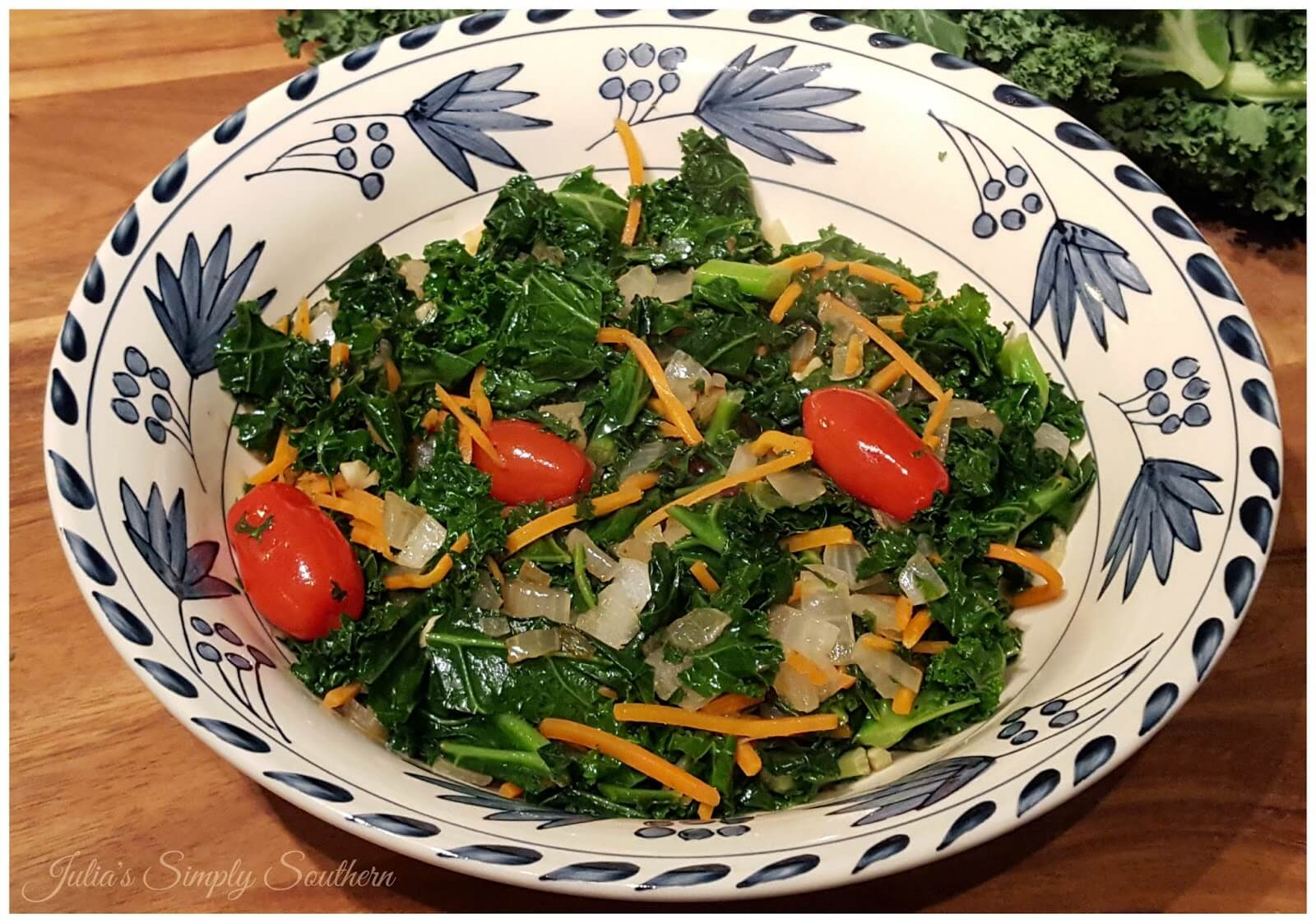 Sauteed Kale Salad - Super Food - Healthy