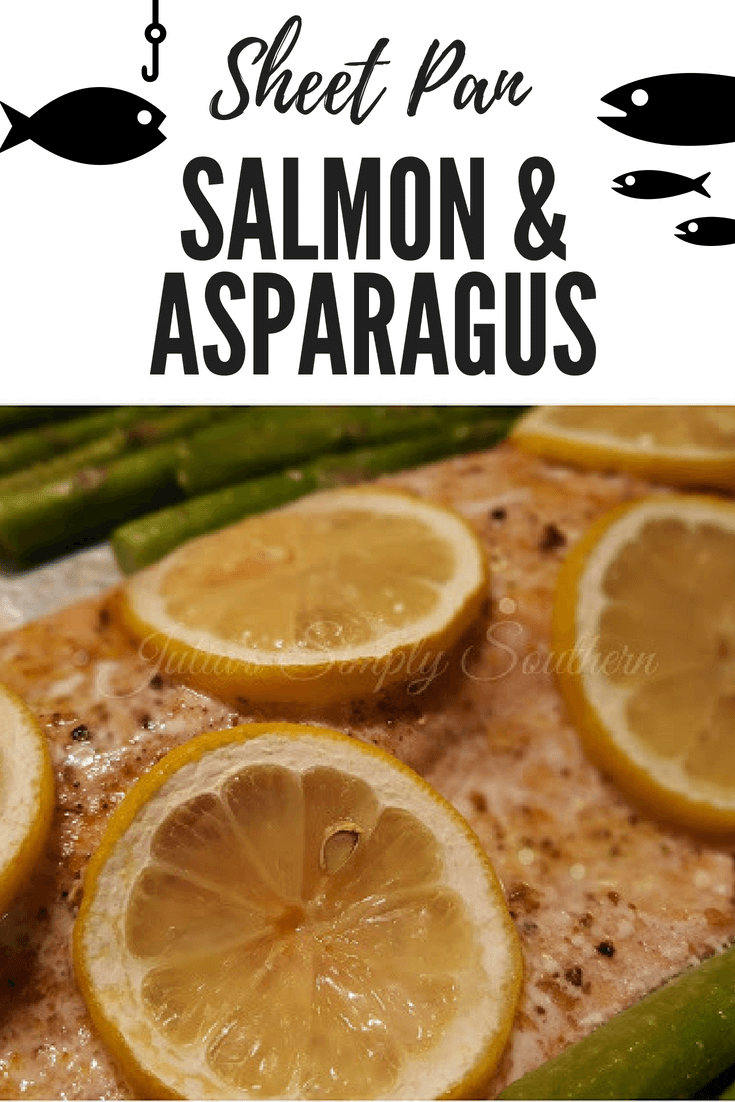 Easy Sheet Pan Salmon and Asparagus