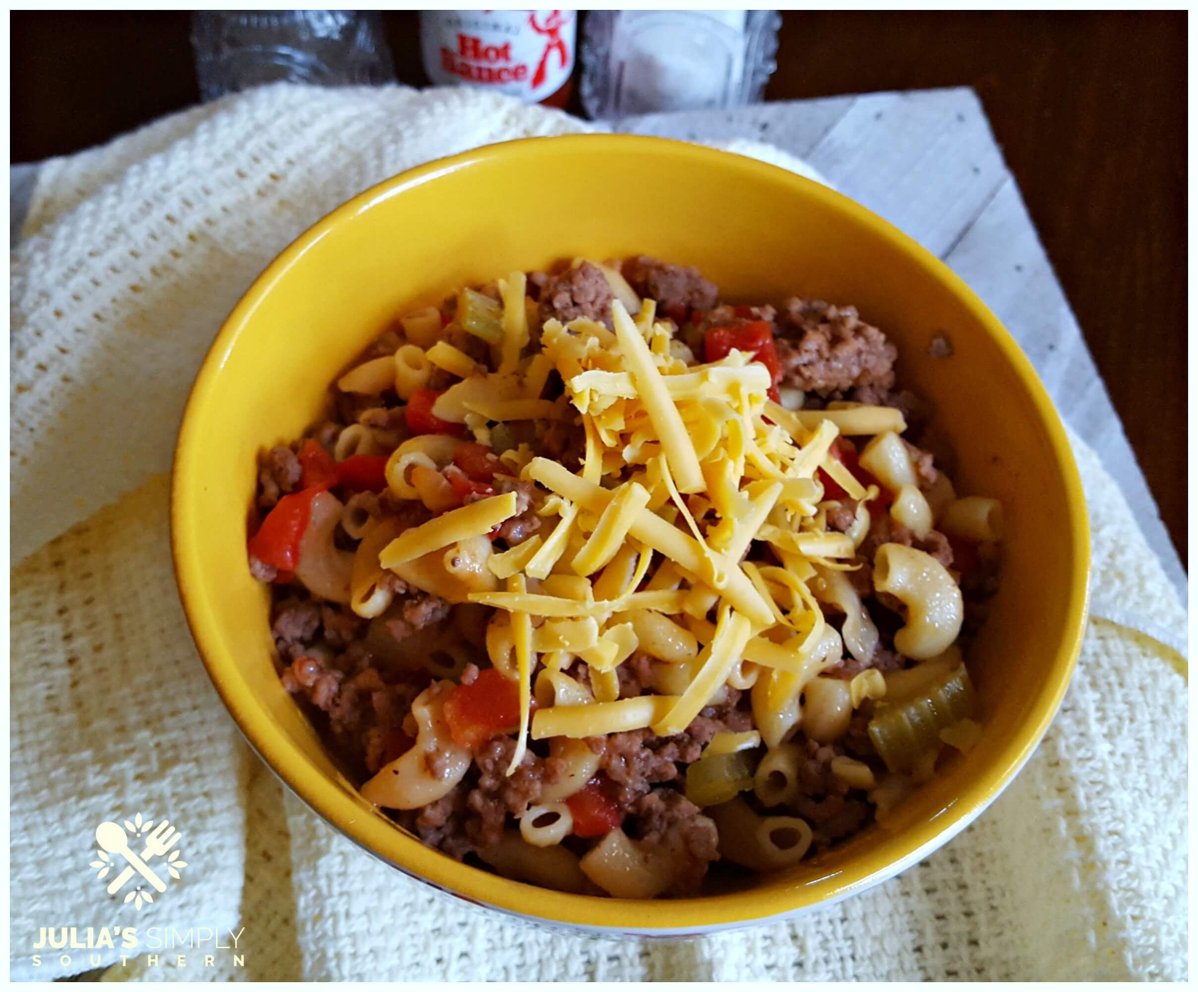 Basic Goulash Recipe - Southern Style - American Chopped Suey