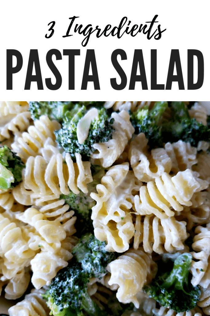 Pinterest recipe for easy pasta salad