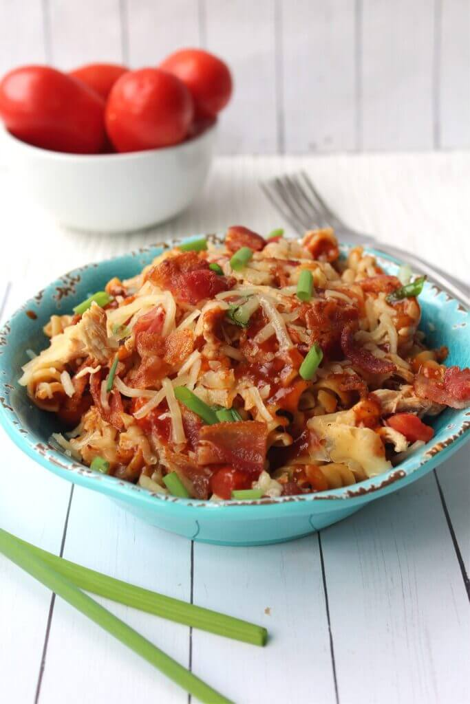 Skillet Monterrey Chicken - Meal Plan Monday 244