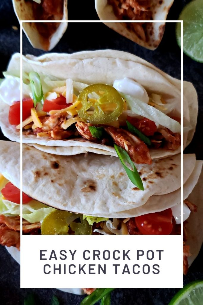 Pinterest crockpot chicken tacos